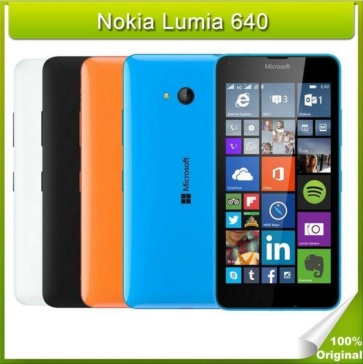 Original nokia microsoft lumia 640 windows quad core 1gb for Window 4g phone