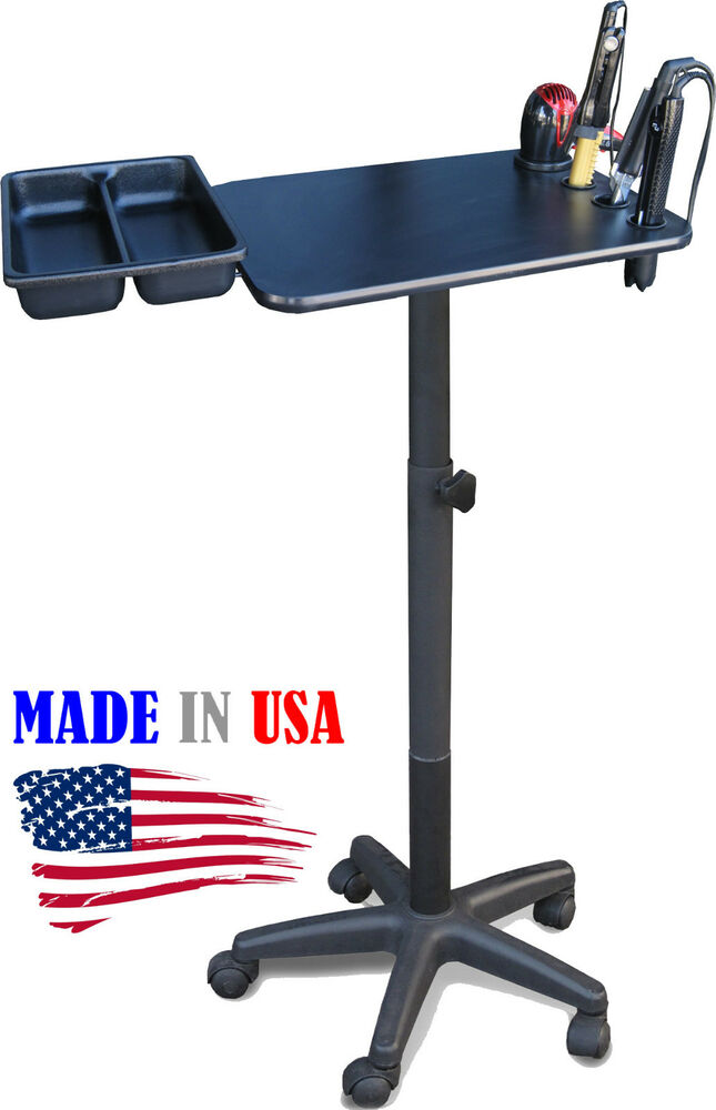 salon spa color chemical laminated tray cart trolley 2700 wtool holder - Color Tray