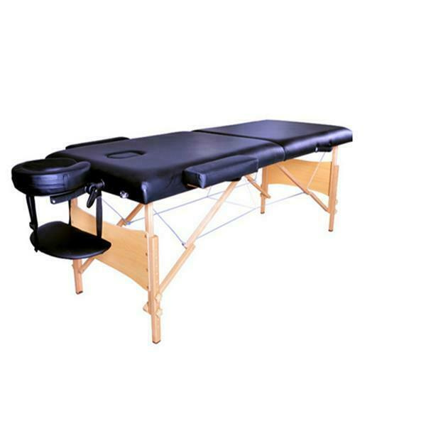 3 fold portable massage table facial spa bed tattoo with free carry case 709202324074 ebay - How much is a massage table ...