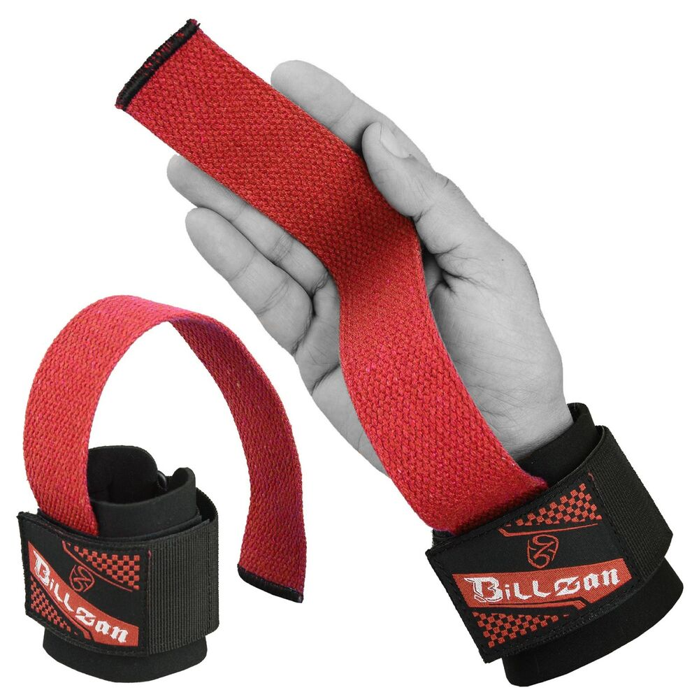 1 Pair Weight Lifting Hand Bar Grips Straps Wrist Support: Weight Lifting Hand Bar Grips Straps Wrist Support Gym
