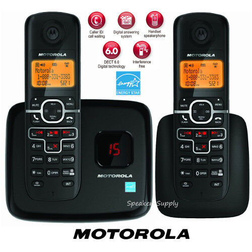 cordless home phones motorola digital wireless 2 handsets cordless home phone 955