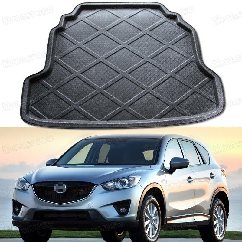 Black Car Rear Trunk Mat Cargo Boot Liner Tray For Mazda Cx 5 2013 2016 14 15 Ebay
