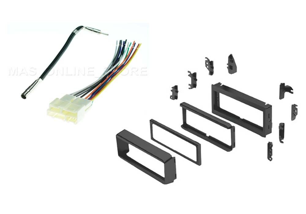 dash kit for pontiac car stereo radio mounting trim w wiring harness antenna ebay