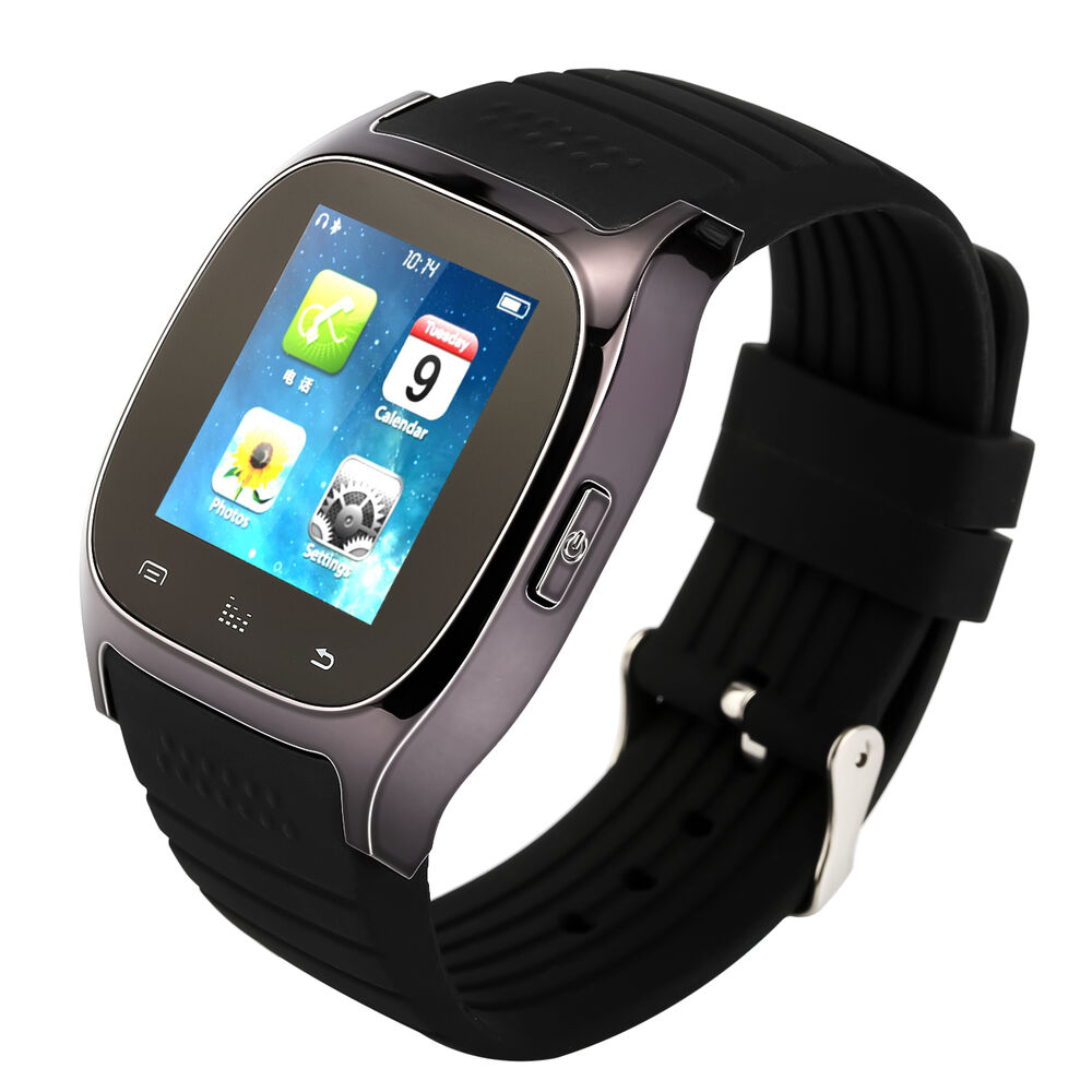 iphone smart watch bluetooth smart wrist phone mate for ios android 9761
