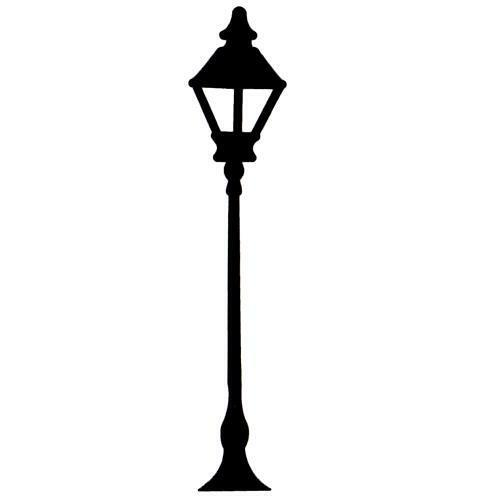 LAMP POST unmounted rubber stamp, large #2 | eBay