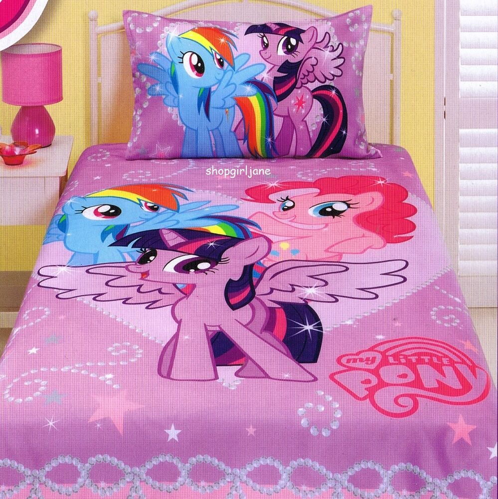 My Little Pony Twilight Sparkle Single Us Twin Bed Quilt