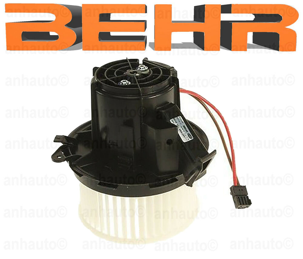 Behr Blower Motor Assembly For Mercedes Benz Ebay