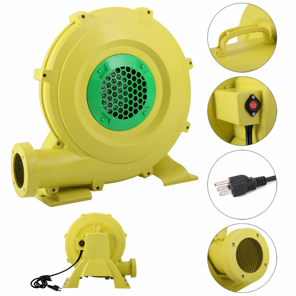Blower For Inflatable Decorations : Air blower pump fan watt hp for inflatable bounce