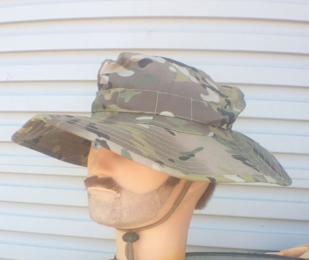59c7ef6ec08 Details about BOONIE HAT OZZIE MULTICAM ADULTS - SIZES S to XL NEW MILITARY  COPY