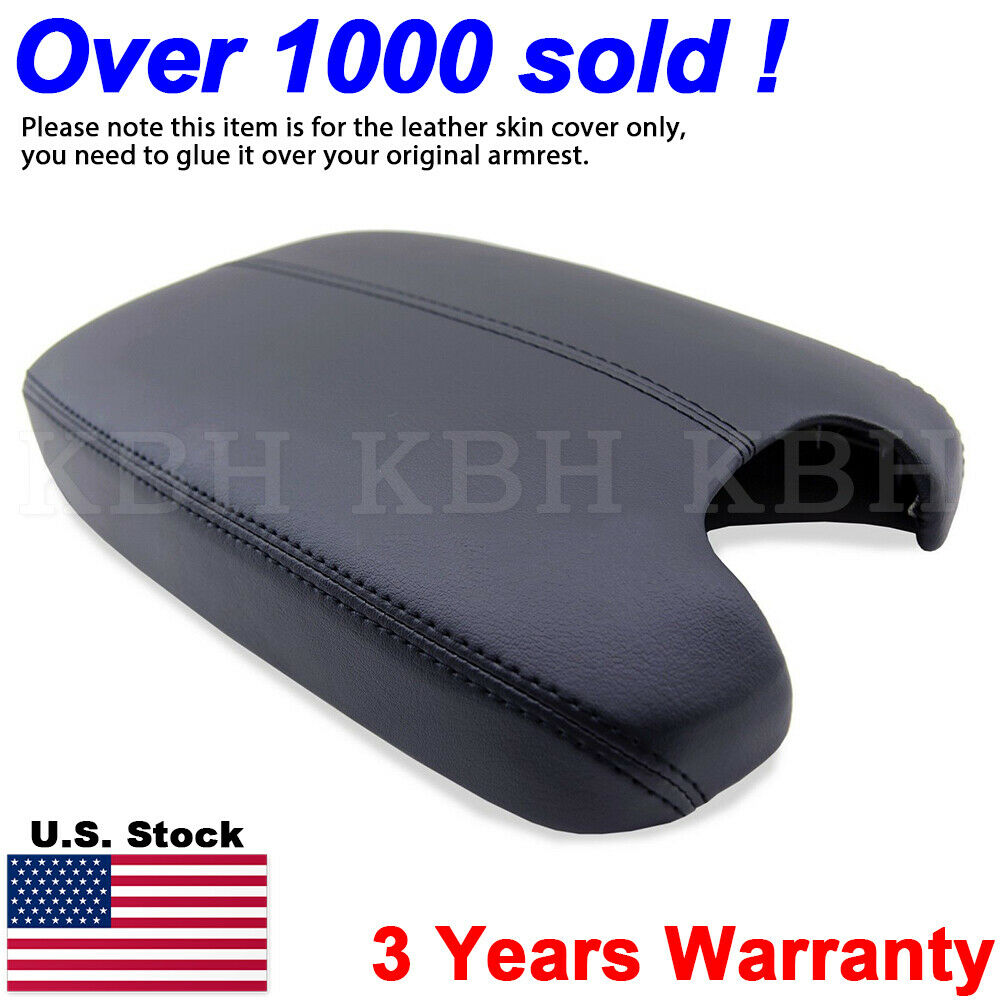 Leather Armrest Center Box Console Lid Cover For Honda