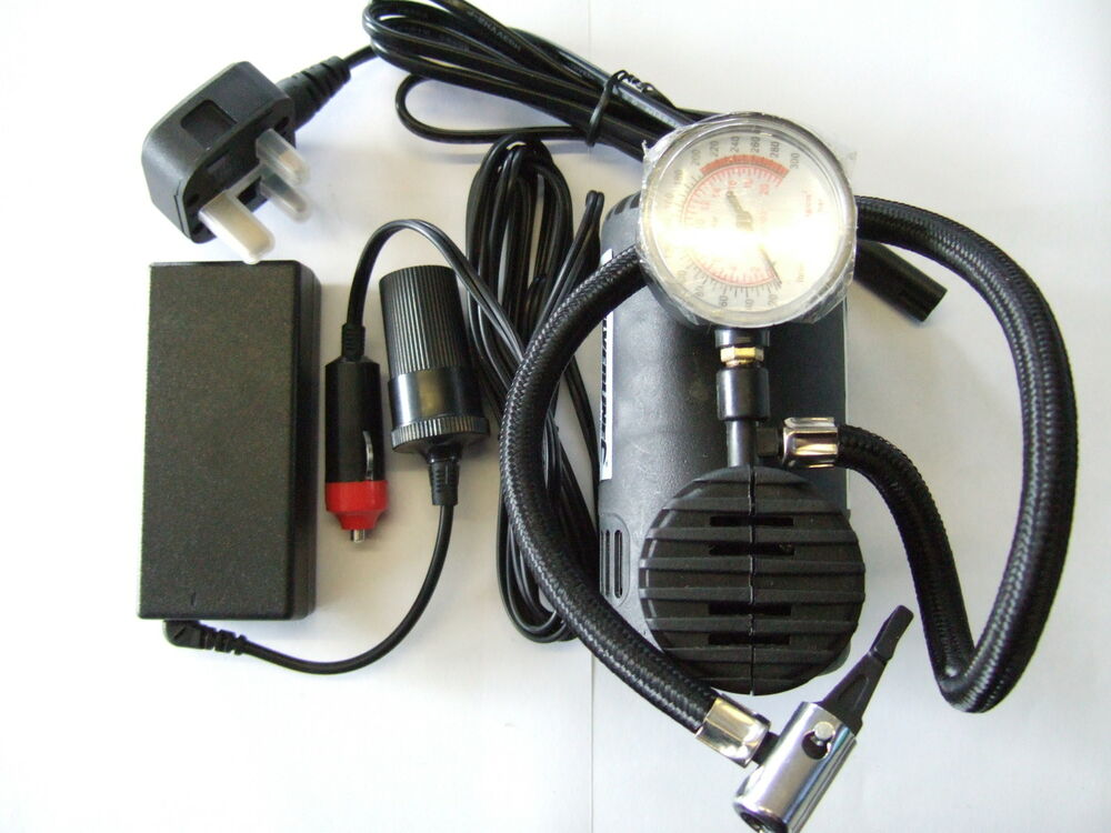 Mains Electric Car Tyre Inflator