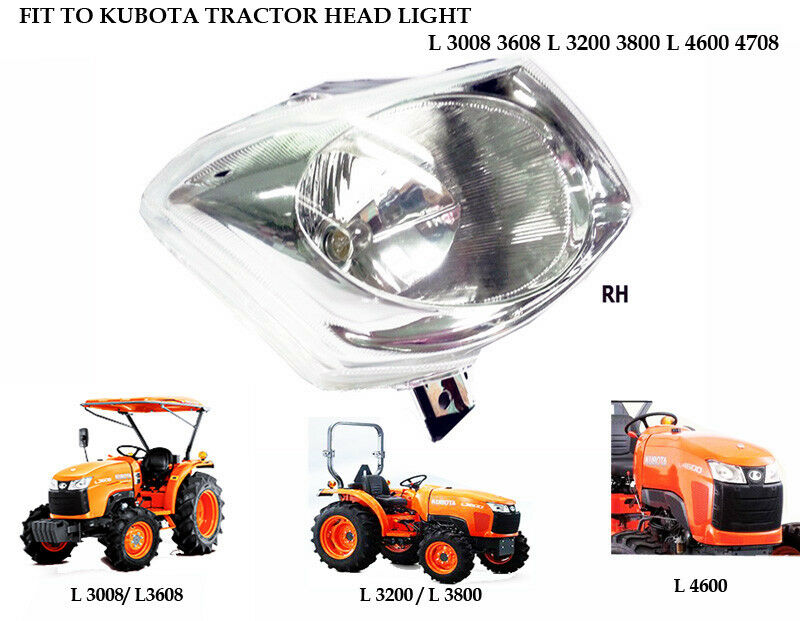 Tractor Light Sockets : Use for kubota l  right side