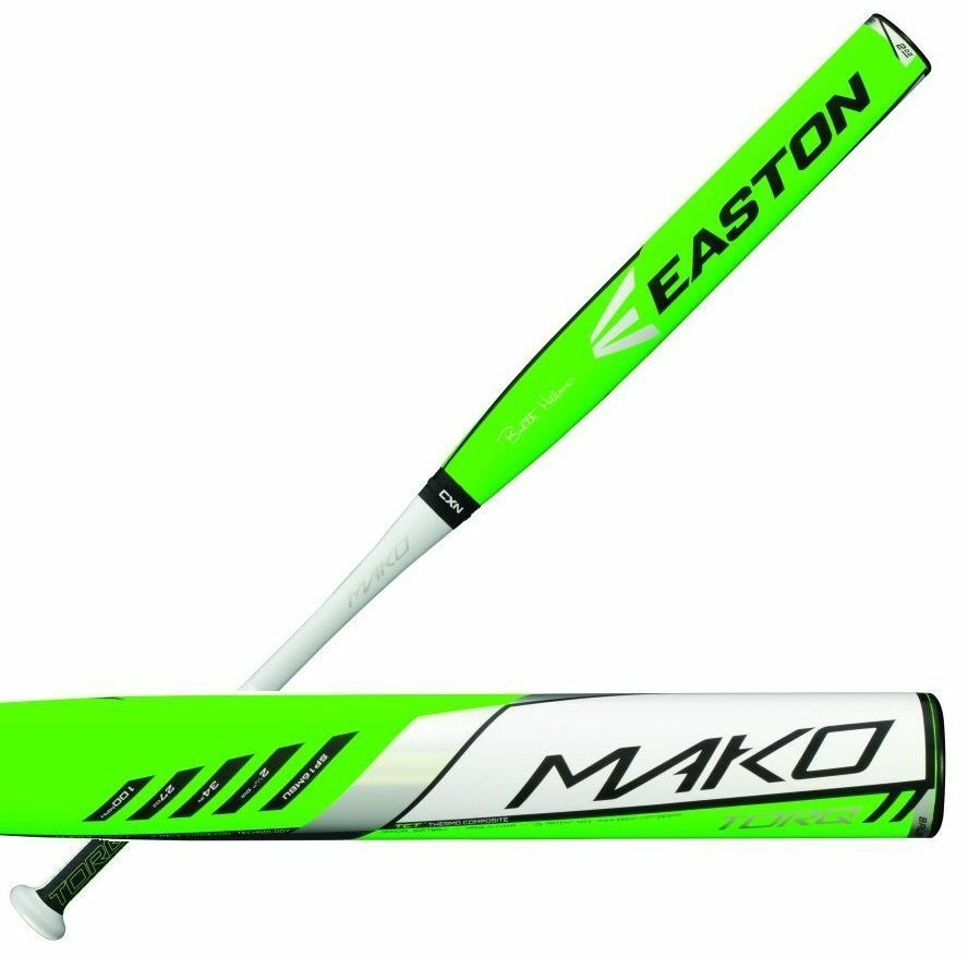 easton usssa bat softball mako slowpitch bats bal torq helmer