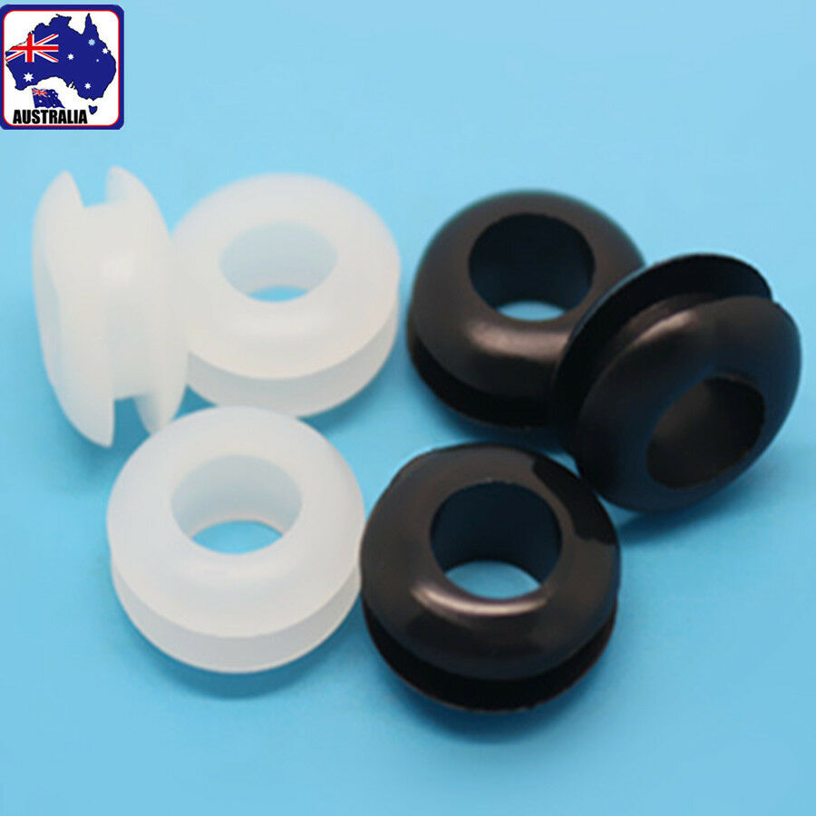 Peachy 100X Rubber Wiring Grommets Ring 5Mm Cable Protector Gasket Wiring Digital Resources Remcakbiperorg
