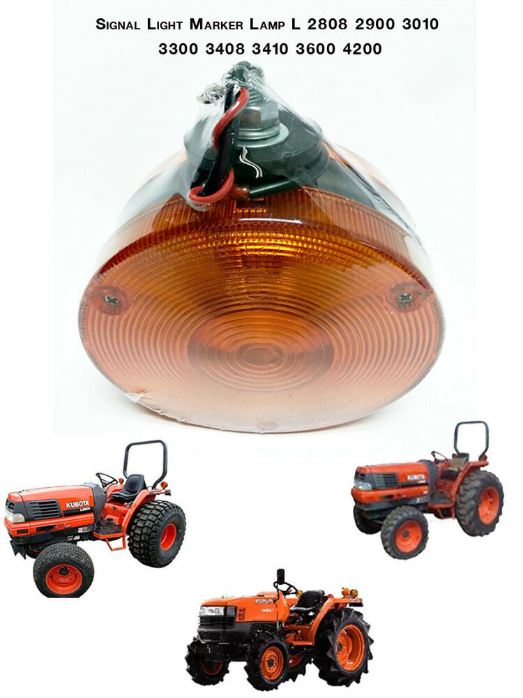 Tractor Amber Safety Lights : Use for kubota ford johndeere tractor light hazard signal
