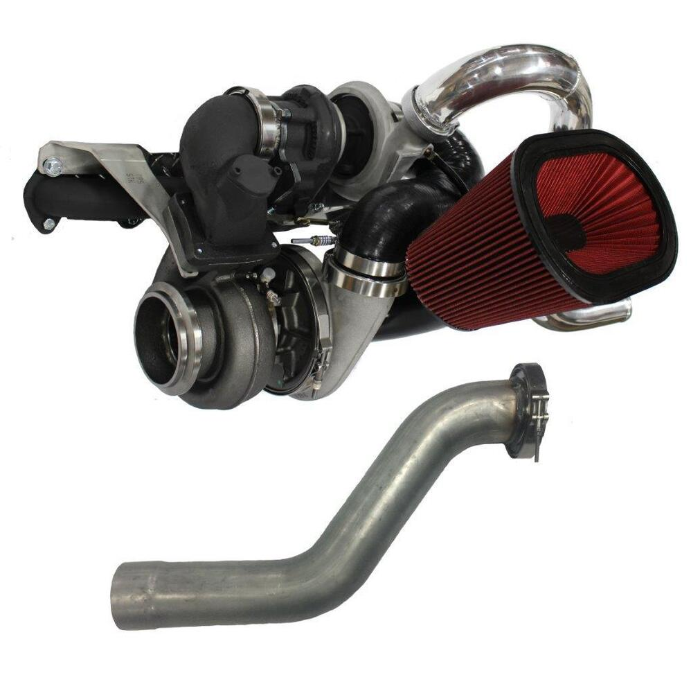 Turbos: S475 / Stock Compound Turbos Fits Dodge Cummins 1988-2002