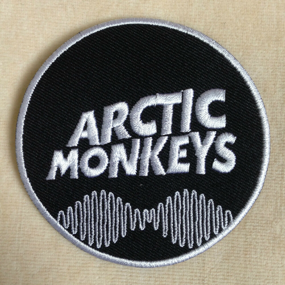 Arctic monkey english rock band embroidery iron on patch
