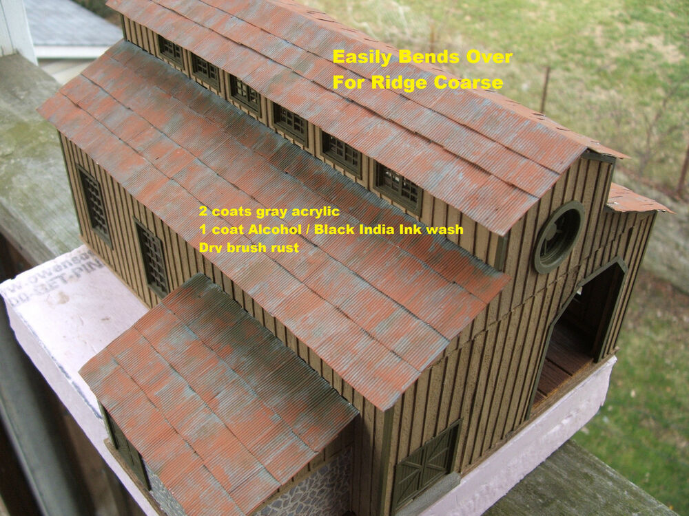 Corrugated Metal Roofing Self Stick Ebay