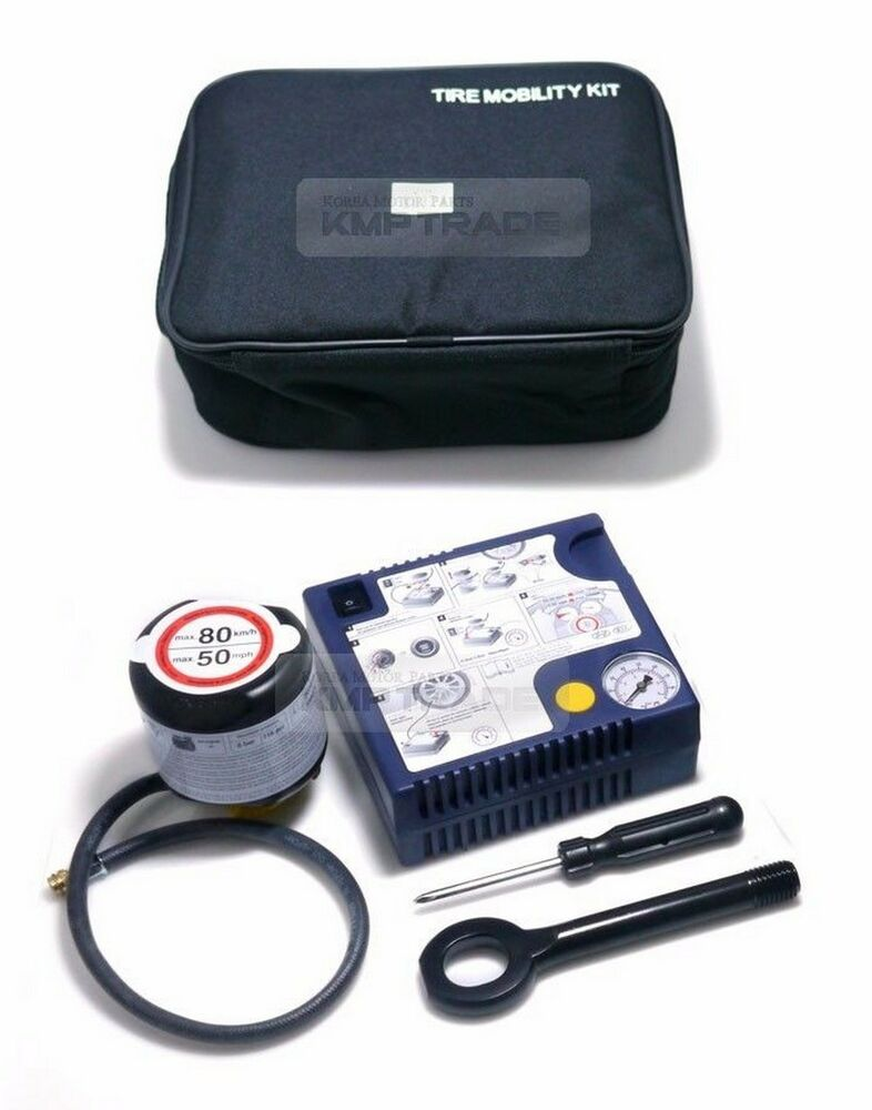 Oem Tire Mobility Kit Inflator Air Compressor Pump For