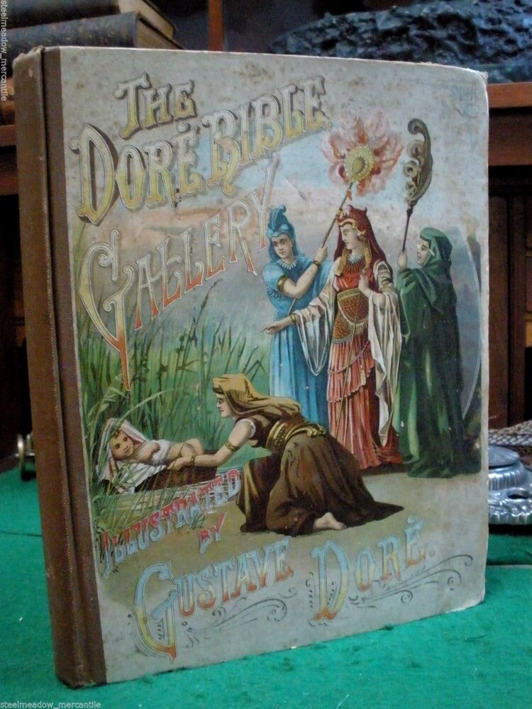 The Dore Bible Gallery 1892 Gustave Dore 100 Illustrations Hurst