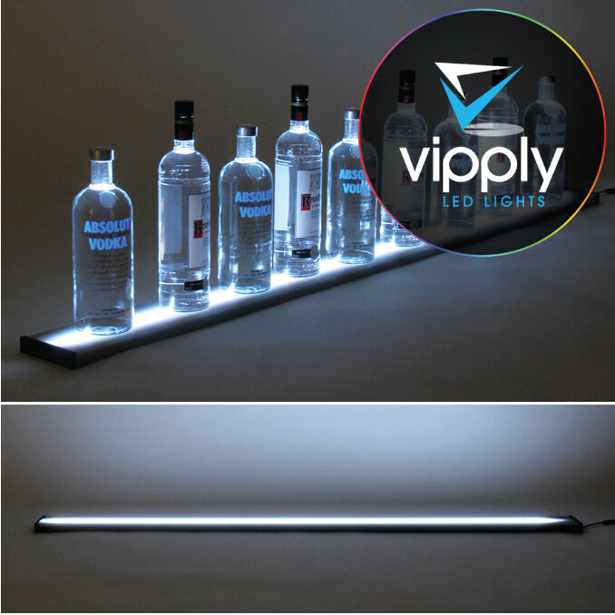 5ft Or 60 Quot Led Liquor Shelf Bottle Shelves Bar