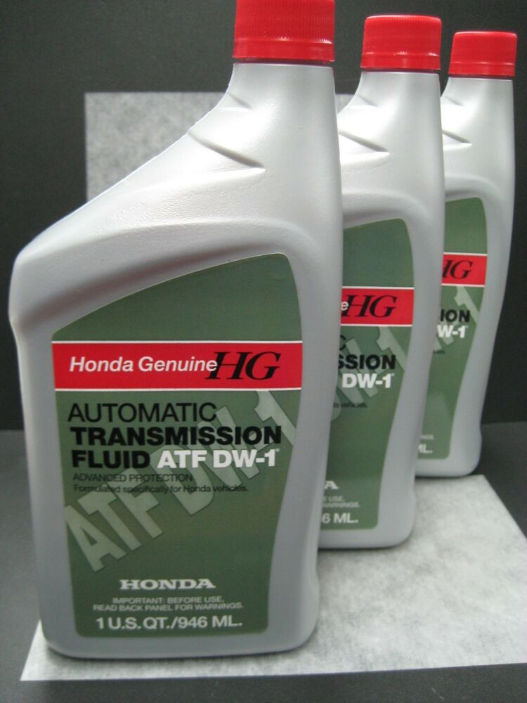 Details About Honda Genuine Atf Dw 1 Automatic Transmission Fluid Pack Of 3 Ships Fast