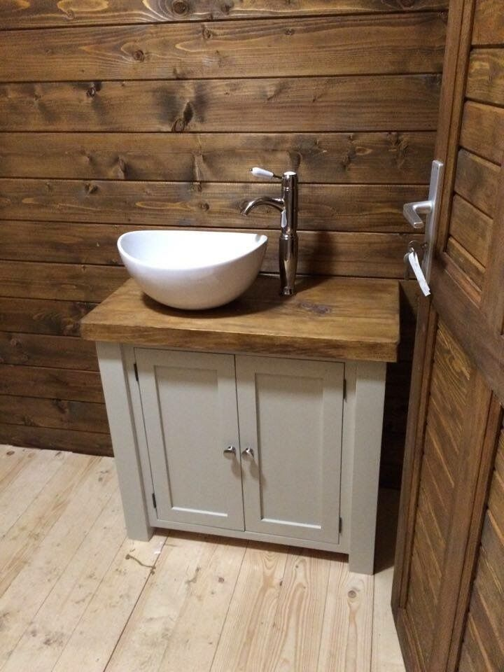 bathroom sinks and vanity units chunky rustic painted bathroom sink vanity unit wood 22371