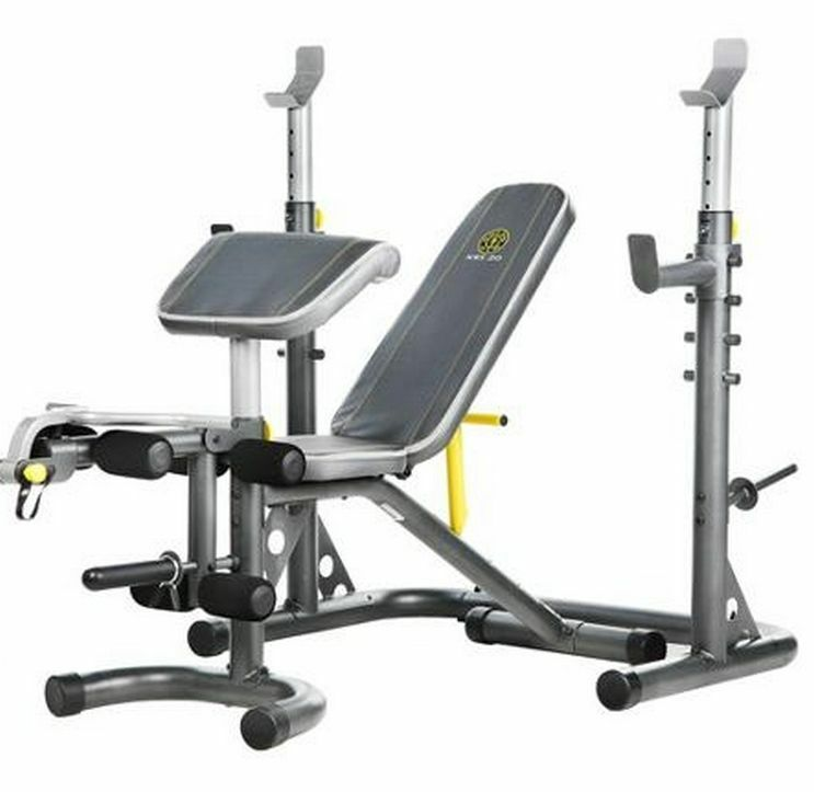 Home Gym Workout Olympic Bench Set Exercise Weights Equipment Squat Rack Dumbell Ebay