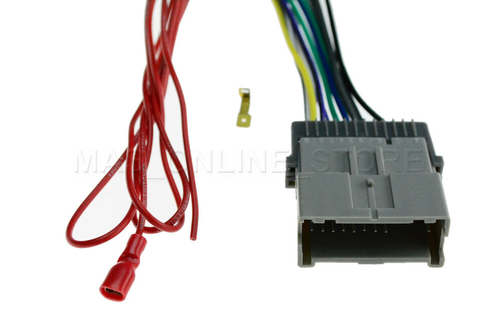 radio stereo install car wire wiring harness cable 5 chevy. Black Bedroom Furniture Sets. Home Design Ideas