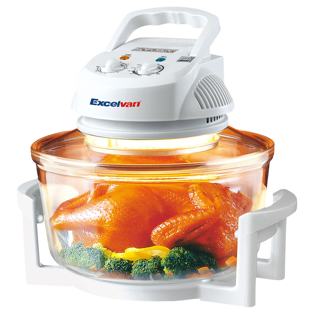 Excelvan Halogen Convection Countertop Multi Cooker Cooking Oven 12 ...