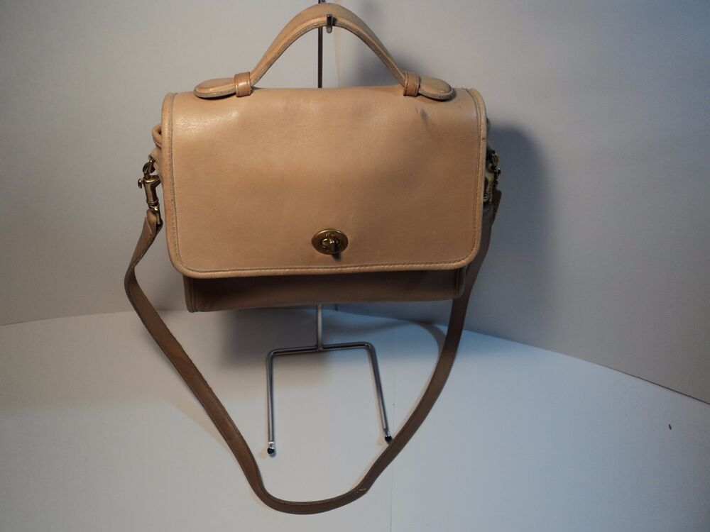 coach 0192 242 neutral cross shoulder bag made in