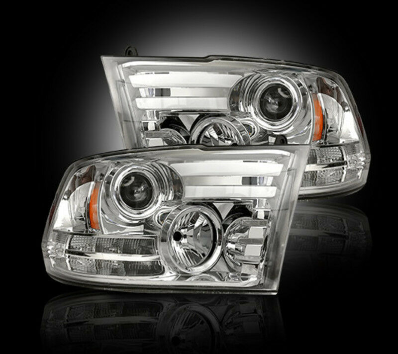 recon clear projector headlights 264276clc 2013 2016 dodge. Black Bedroom Furniture Sets. Home Design Ideas