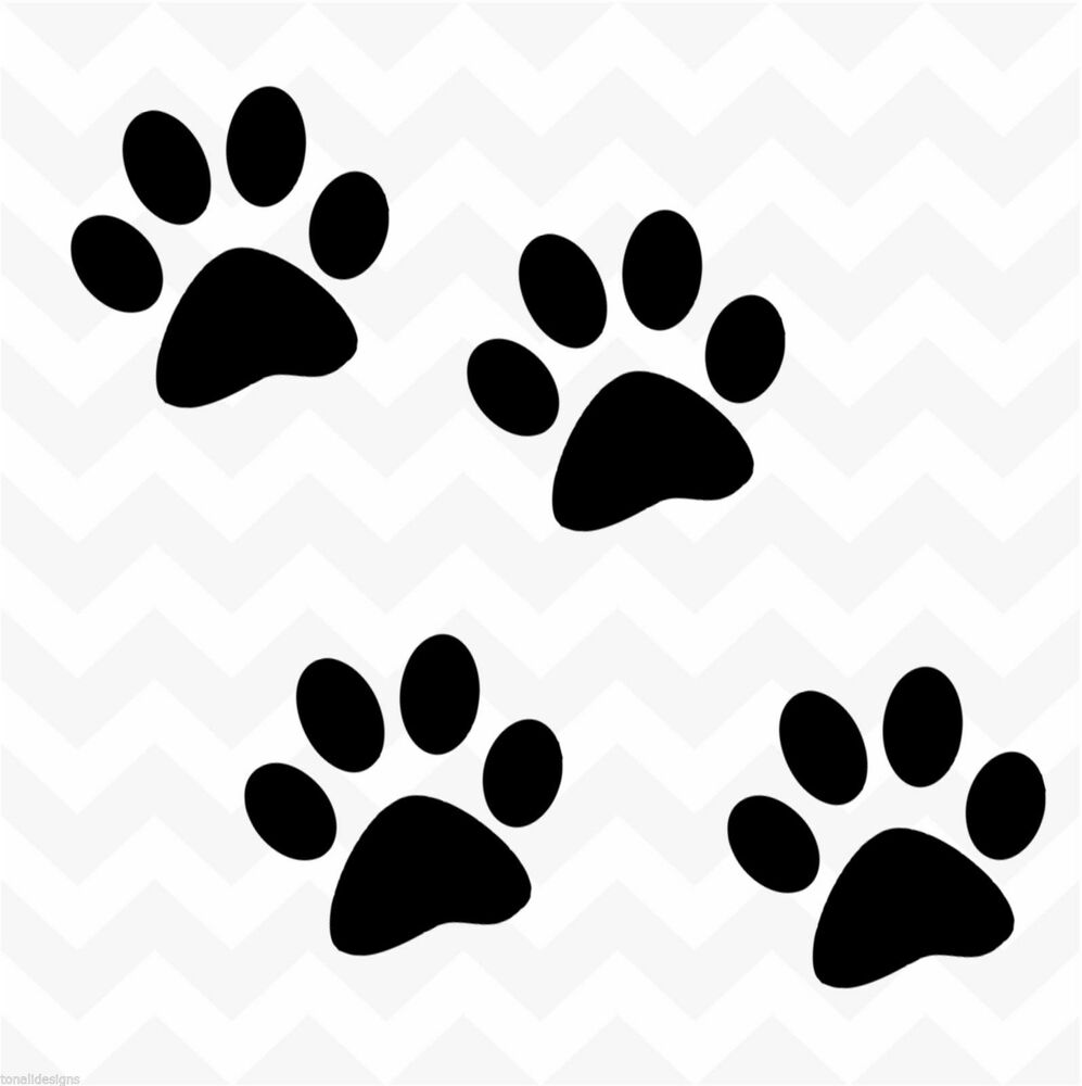 Exceptional image with printable paw print
