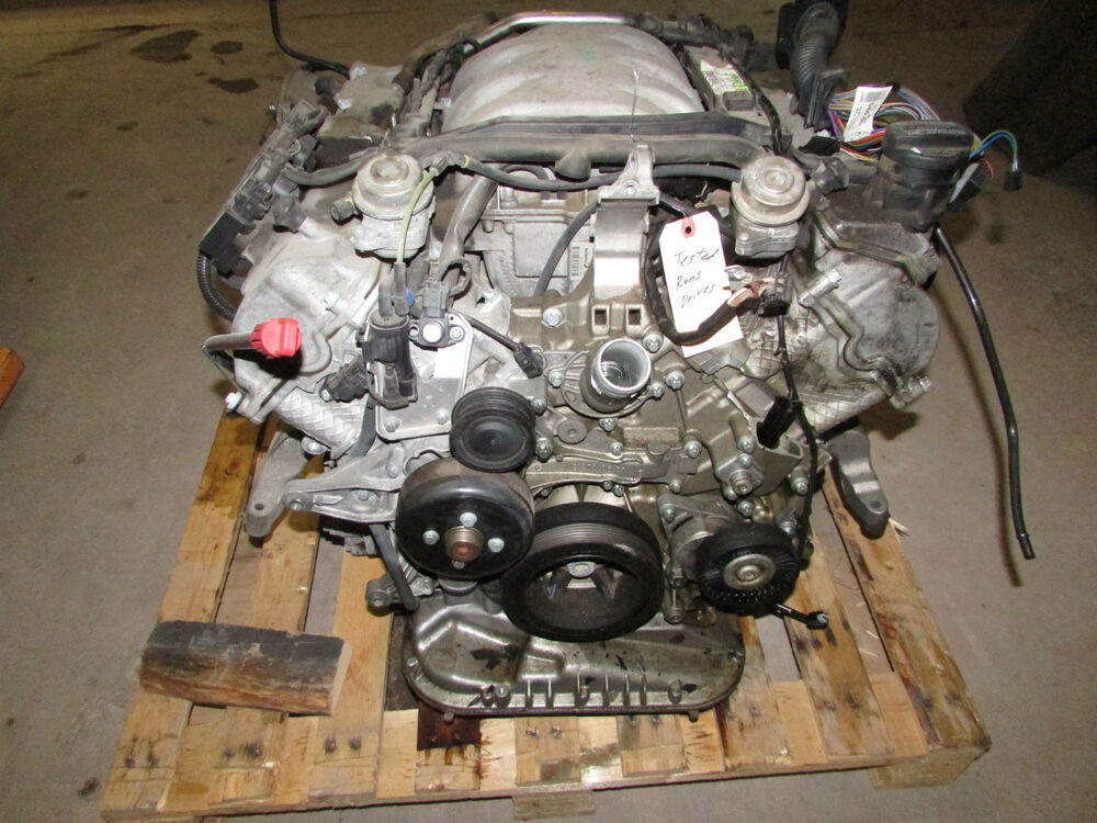 05 mercedes e320 c230 clk slk 3 2 engine 76 952 miles oem for Mercedes benz 3 2 v6 engine