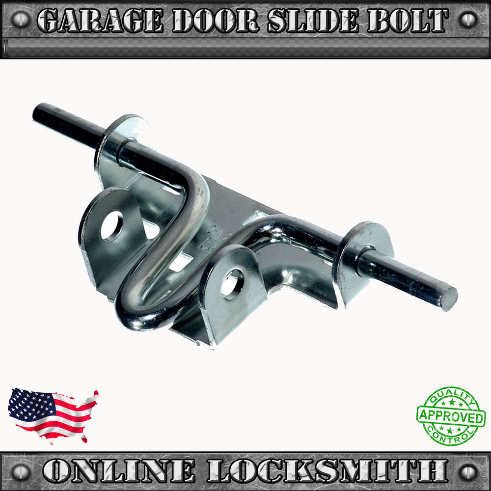 Universal Garage Door Slide Lock Bolt Secure For All