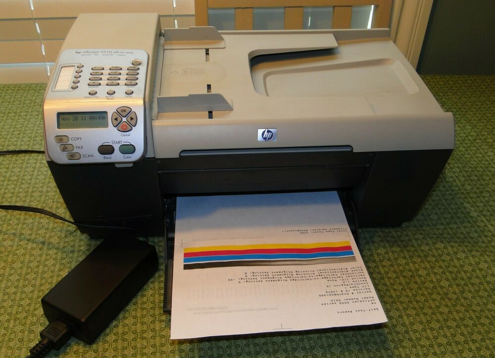 Hp officejet 5510 All in one Manual