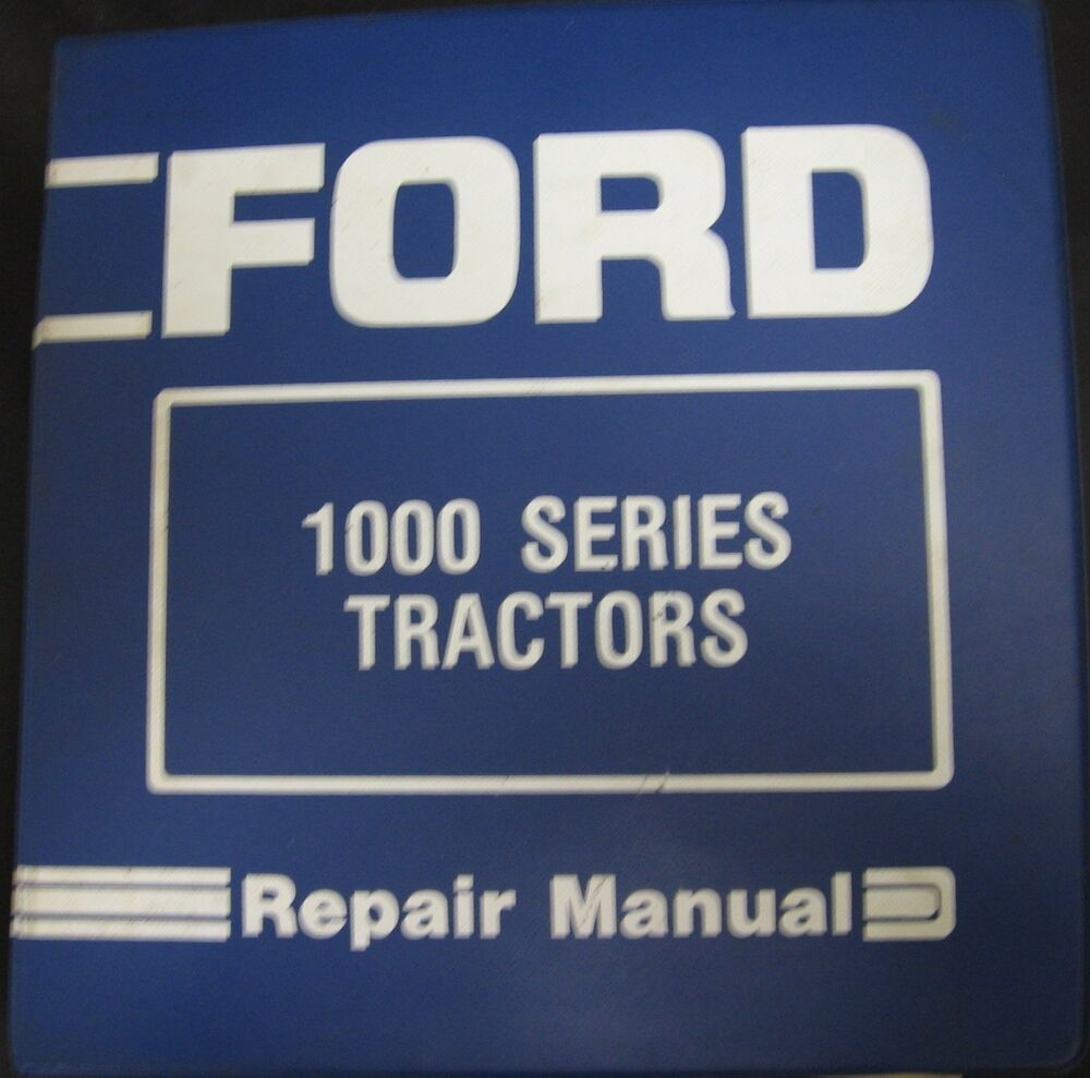 Ford Tractor 1500 Series : Ford series  tractors