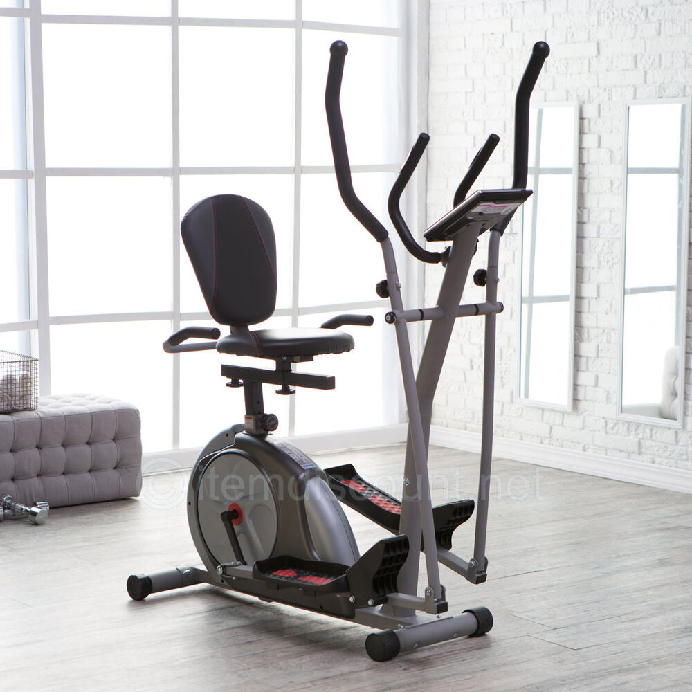 Elliptical Bike Ebay: Trio Trainer Elliptical Machine Magnetic Recumbent
