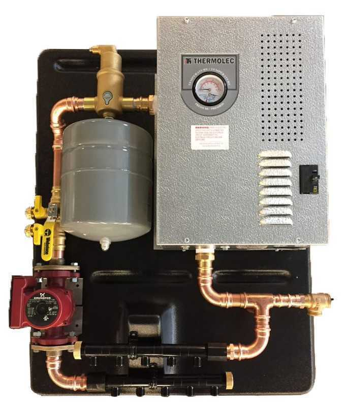 Radiant Heating System , Electric, Shop