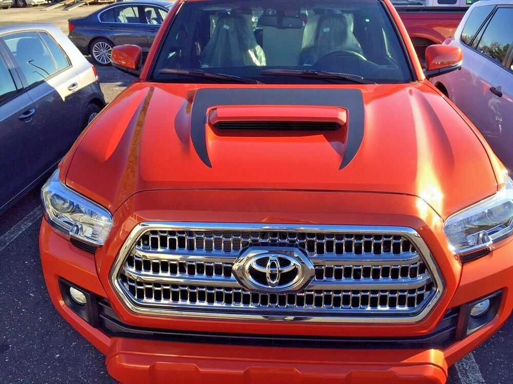 Toyota Tacoma 2016 17 Front Hood Scoop Decal Inlay Graphic