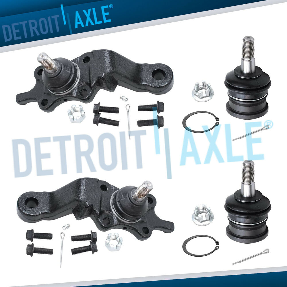 Brand New 12pc Front Suspension Kit For 1994 1999 Toyota: (4pc) Front Upper And Lower Ball Joint Kit For 1995-2004
