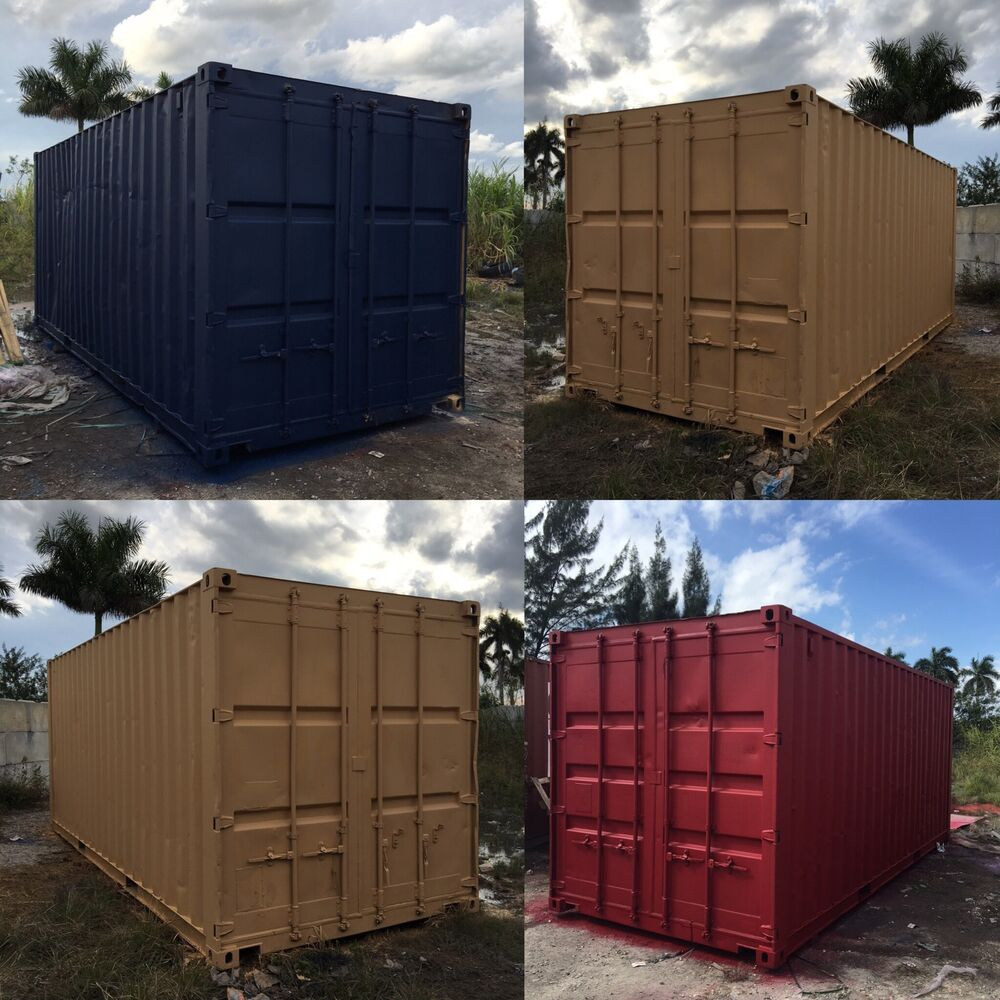 20 foot shipping storage container houston texas ebay. Black Bedroom Furniture Sets. Home Design Ideas