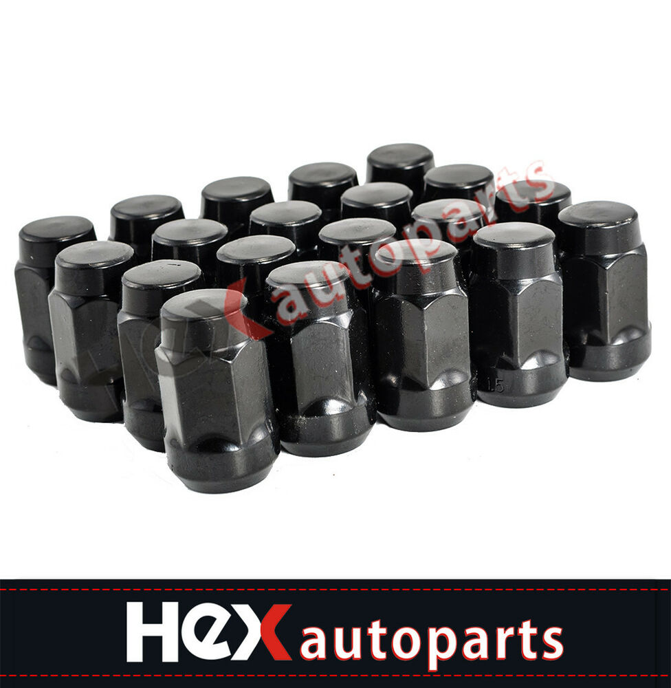 08 Dodge Charger For Sale: (20) 14x1.5 Black Wheel Lug Nuts For Dodge Magnum Charger