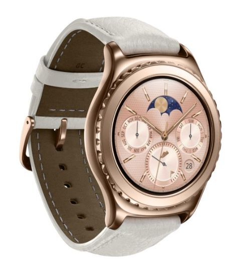 Samsung Gear S2 CLASSIC 18K ROSE GOLD Plated Smartwatch+2 ...