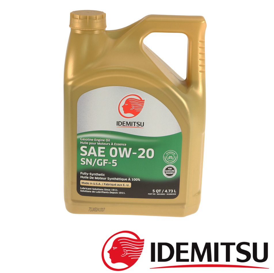 2 Gallon Pack 0w20 Synthetic Sn Gf5 Engine Motor Oil For