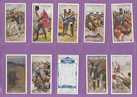 MILITARY - JOHN PLAYER & SONS - SET OF 25 CARDS  -  VICTORIA  CROSS  -  1914