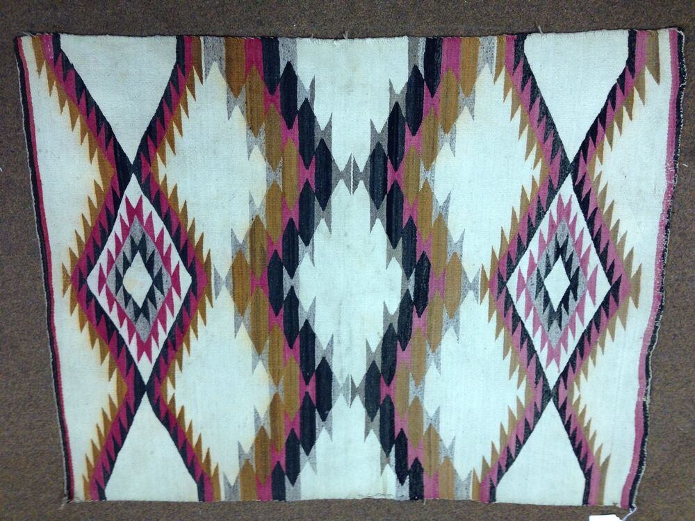 C1930 S Authentic Navajo Native American Indian Rug