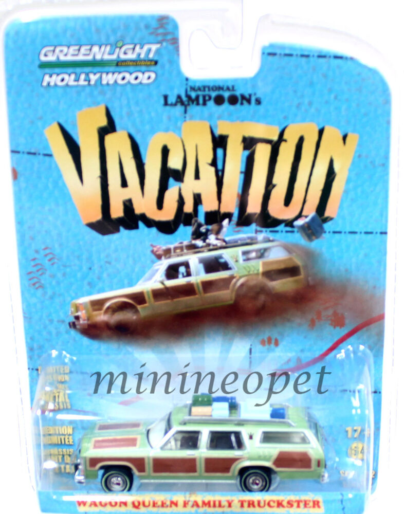 GREENLIGHT 44720 A NATIONAL LAMPOON'S VACATION WAGON QUEEN