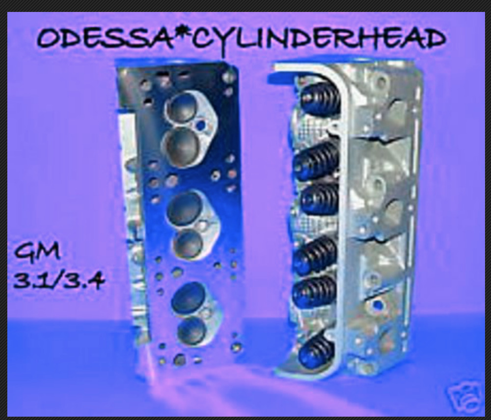 2 GM CHEVY LUMINA Buick 3.1 3.4 CAST#487 CYLINDER HEADS