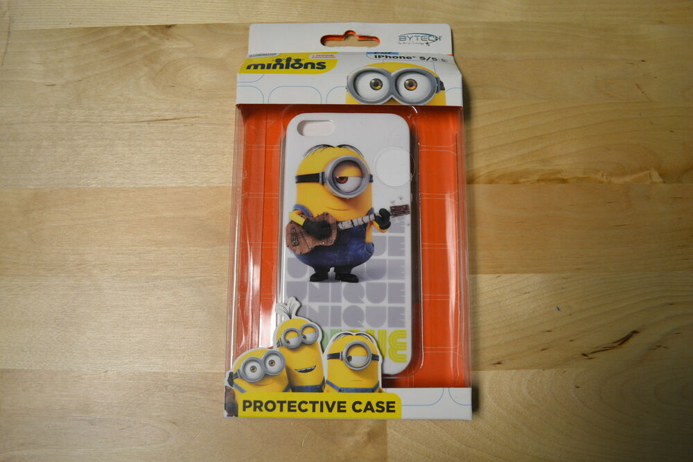 ... Minions Unique iPhone 5 5S SE Protective Case Brand New 8D : eBay